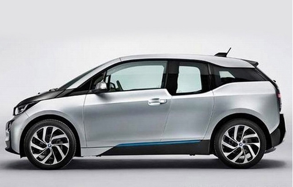 2014 bmw i3 electric car revealed in leaked images. Black Bedroom Furniture Sets. Home Design Ideas