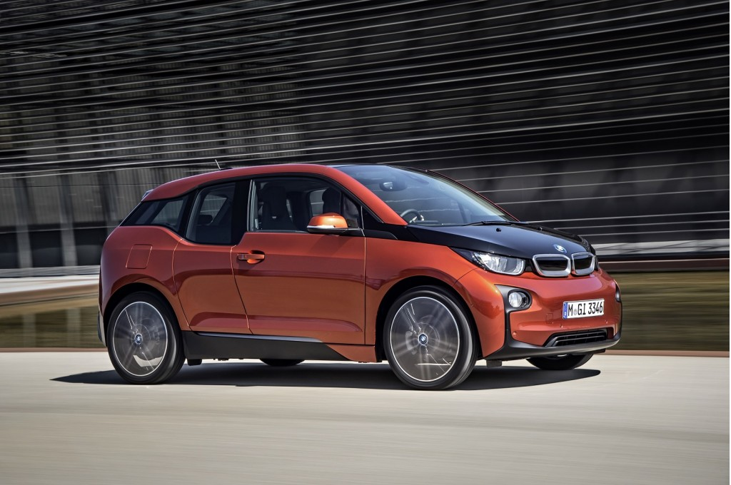 2014 bmw i3 electric car roundup of driving impressions. Black Bedroom Furniture Sets. Home Design Ideas