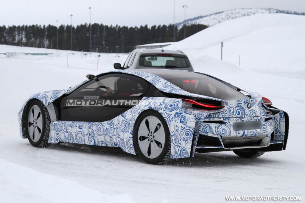 mission impossible 4 trailer features bmw i8 and 6 series