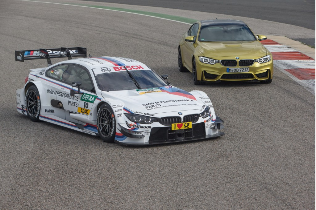 watch the 2014 bmw m4 dtm race car in new promo video. Black Bedroom Furniture Sets. Home Design Ideas