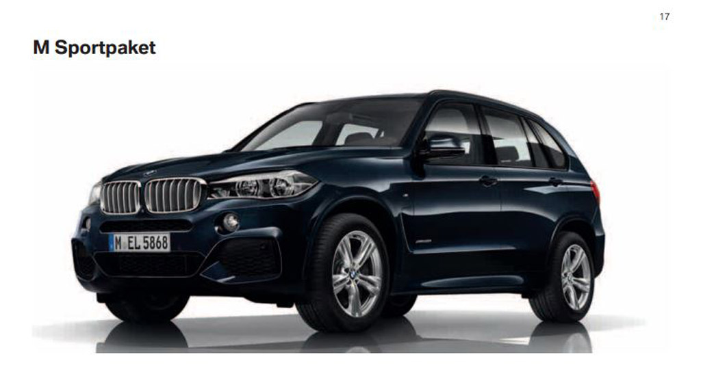first look at 2014 bmw x5 m sport package and x5 m50d. Black Bedroom Furniture Sets. Home Design Ideas