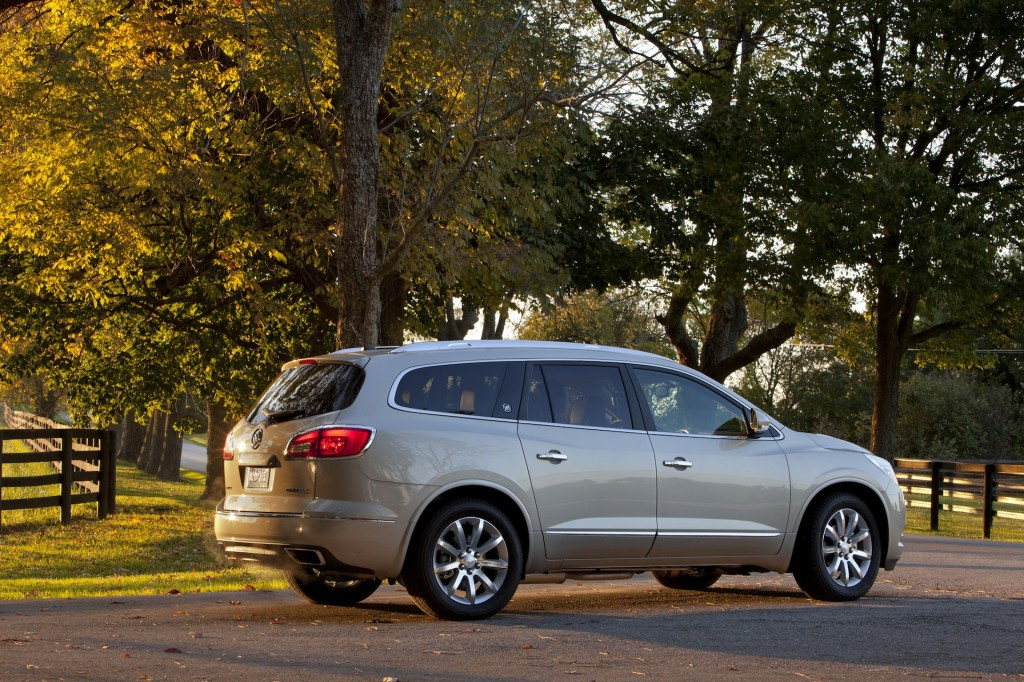 2014 buick enclave pictures photos gallery green car reports. Black Bedroom Furniture Sets. Home Design Ideas