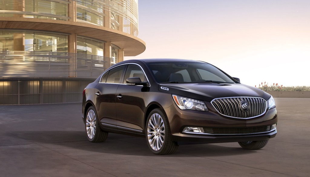 2014 buick lacrosse breaks cover ahead of new york reveal
