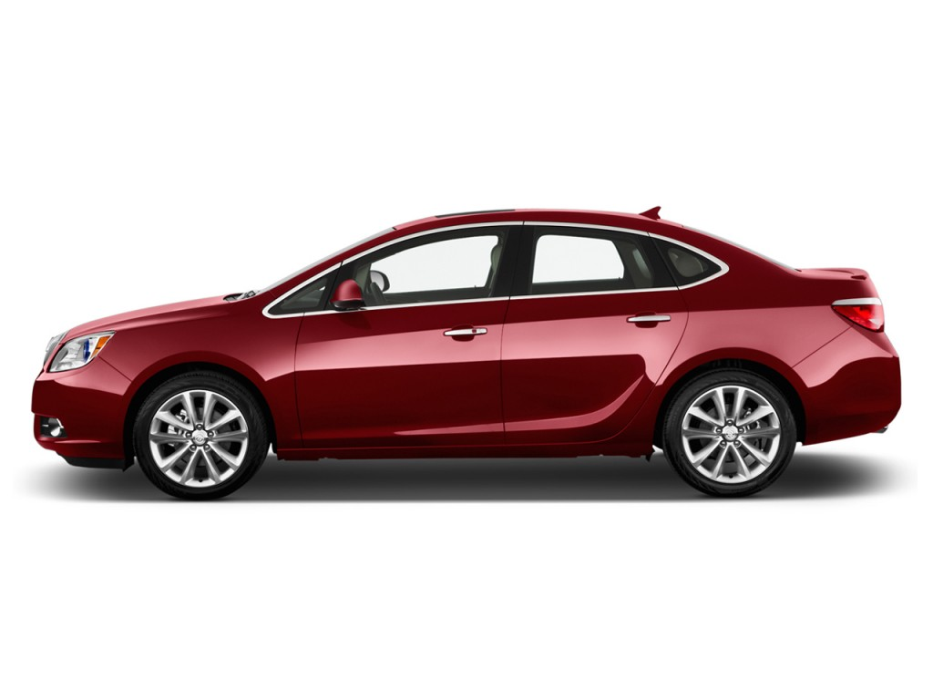 2014 buick verano 4 door sedan leather group side exterior view
