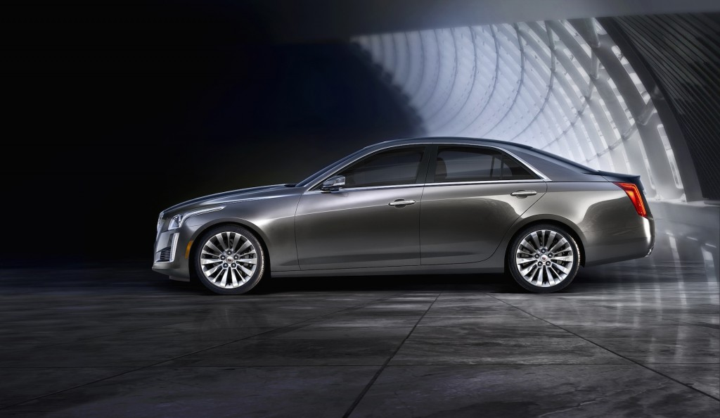 2014 cadillac cts new york auto show live photos