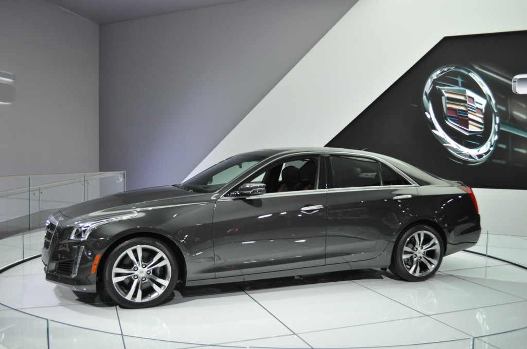 2014 Cadillac CTS Priced From $46,025: More Technology, More Luxury