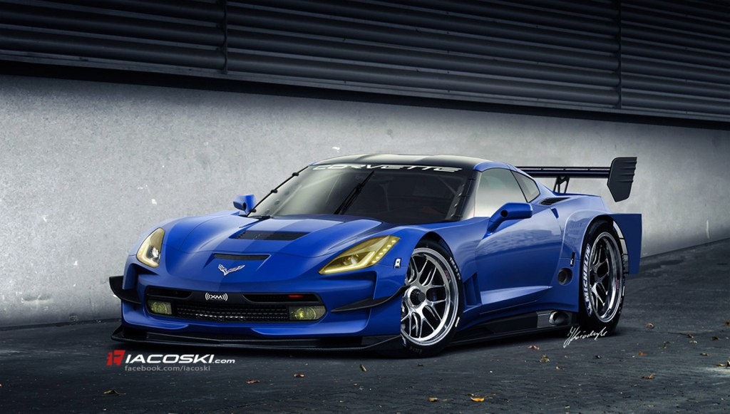 2014 chevrolet corvette c7 r race car rendering by iacoski design. Cars Review. Best American Auto & Cars Review
