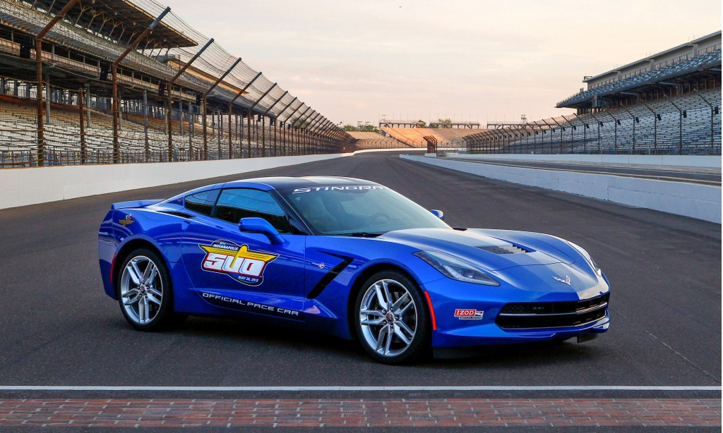 2014 chevrolet corvette stingray 2013 indy 500 pace car. Black Bedroom Furniture Sets. Home Design Ideas