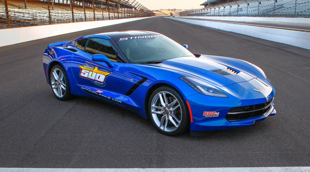 nfl s jim harbaugh to pace indy 500 in 2014 corvette stingray. Black Bedroom Furniture Sets. Home Design Ideas