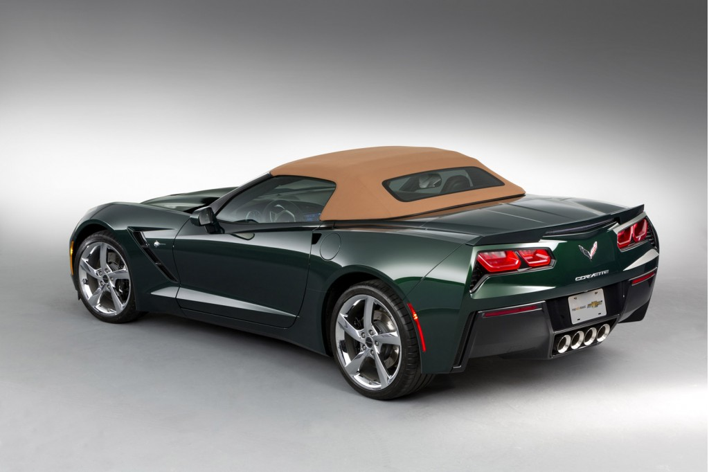 First Corvette Stingray Special Edition Is The New ...
