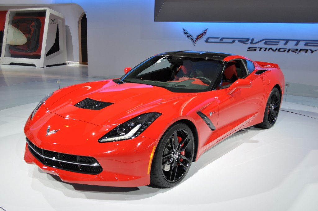 2014 Chevrolet Corvette Stingray Live Shots