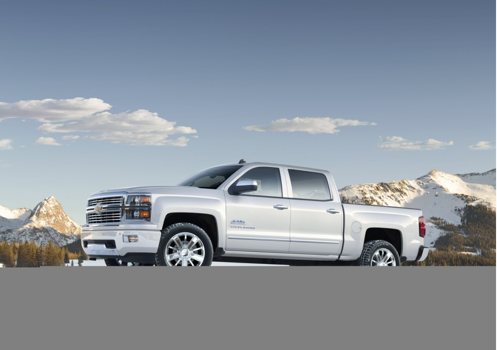 2014 chevrolet silverado climbs upmarket with high country model. Black Bedroom Furniture Sets. Home Design Ideas