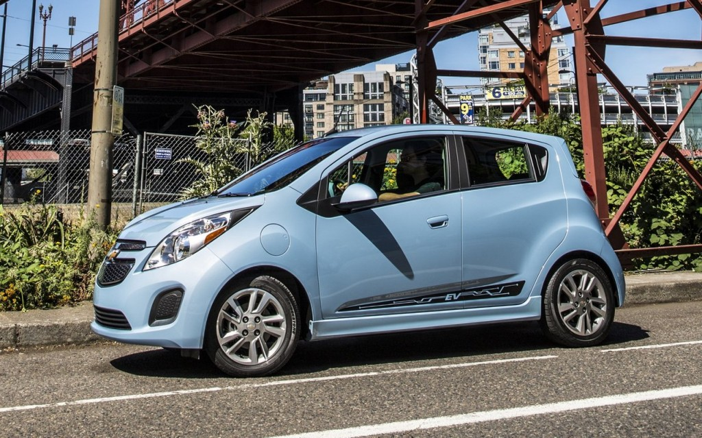 2014 chevrolet spark ev we drive the world 39 s most efficient car. Cars Review. Best American Auto & Cars Review