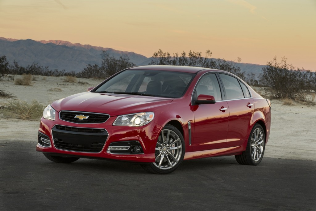 Chevrolet SS vs Pontiac G8: what's the difference?