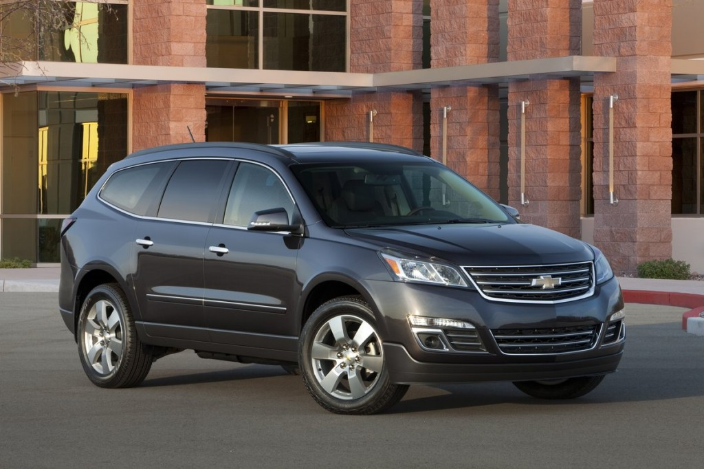 2014 chevrolet traverse chevy pictures photos gallery the car connection