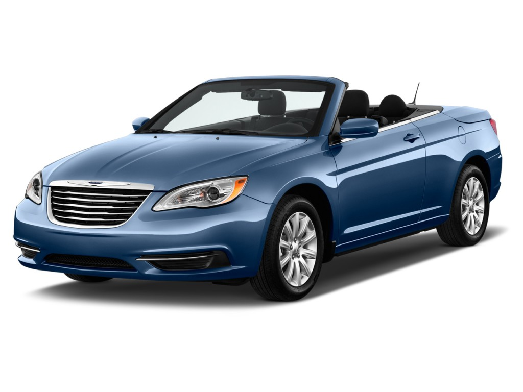 2014 chrysler 200 2 door convertible touring angular front exterior. Cars Review. Best American Auto & Cars Review