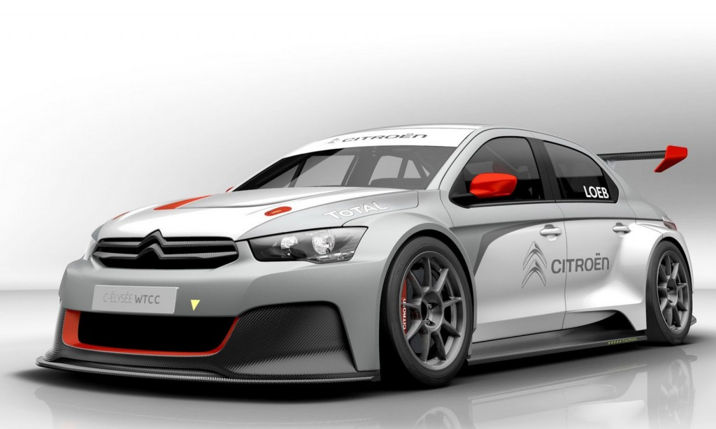 s bastien loeb drives citro n s new wtcc car is joined by