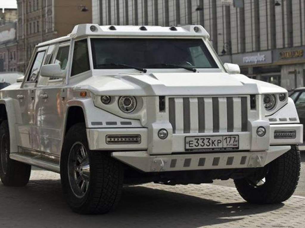 Dartz Working On New Prombron White Horse Suv For China