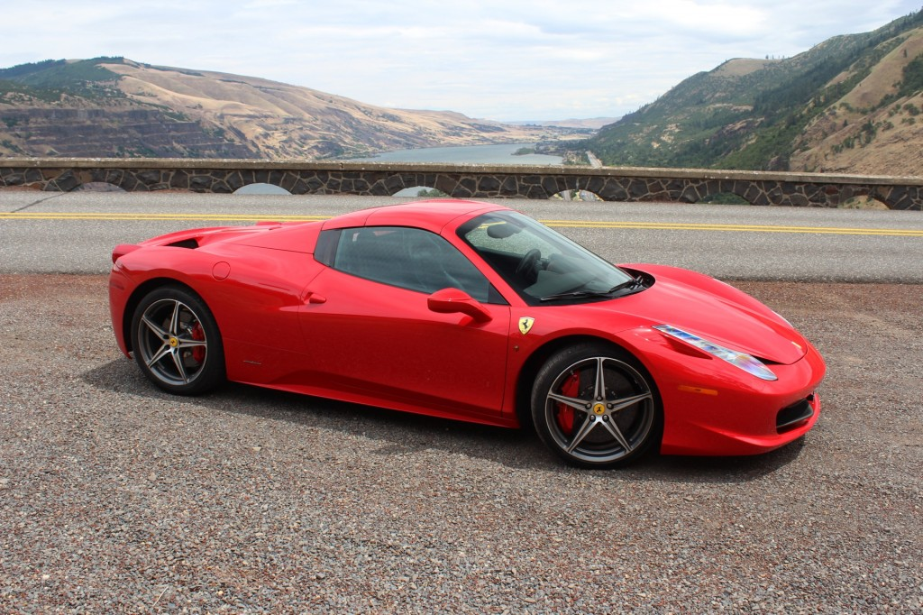 Ferrari 458 Spider Makes Some Sweet Sounds Video