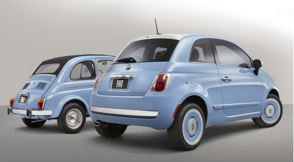2014 fiat 500 1957 edition to debut at l a auto show. Black Bedroom Furniture Sets. Home Design Ideas