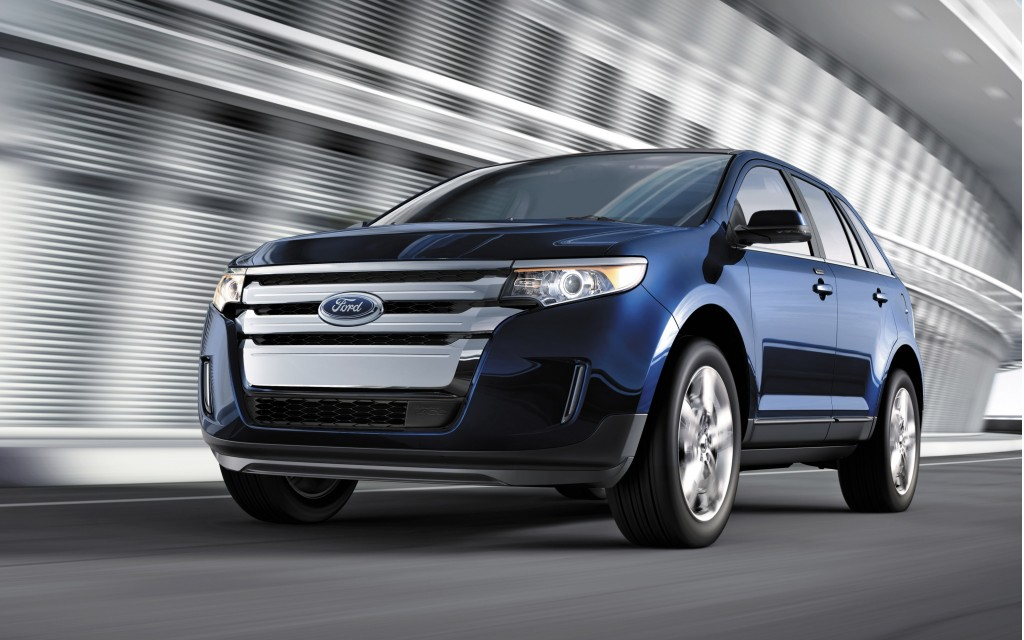 2014 ford edge pictures photos gallery green car reports. Black Bedroom Furniture Sets. Home Design Ideas