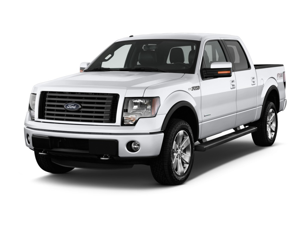 2014 ford f 150 4wd supercrew 145 fx4 angular front exterior view. Black Bedroom Furniture Sets. Home Design Ideas