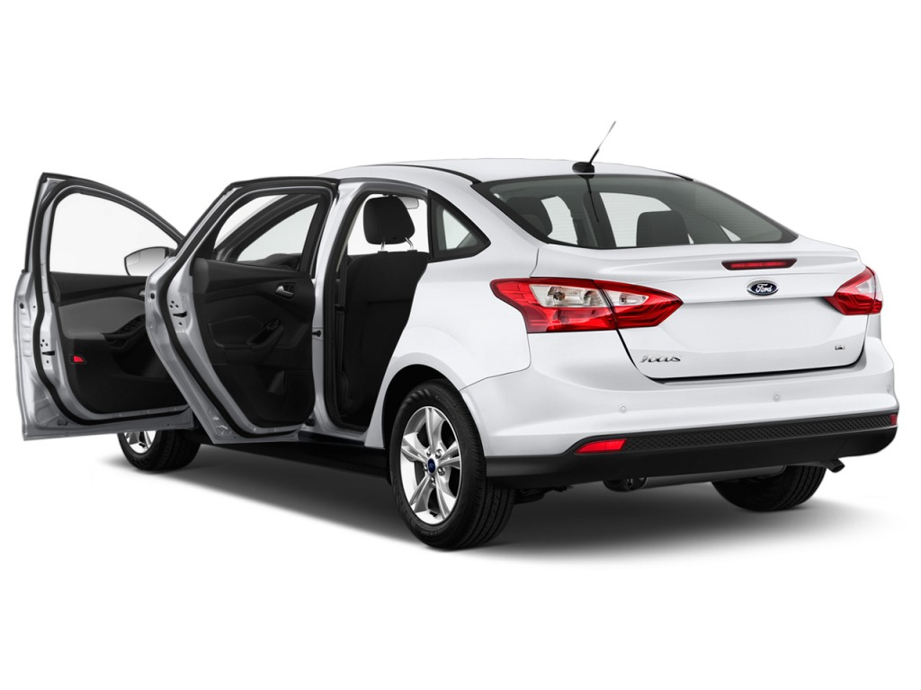 2014 ford focus 4 door sedan se open doors. Black Bedroom Furniture Sets. Home Design Ideas