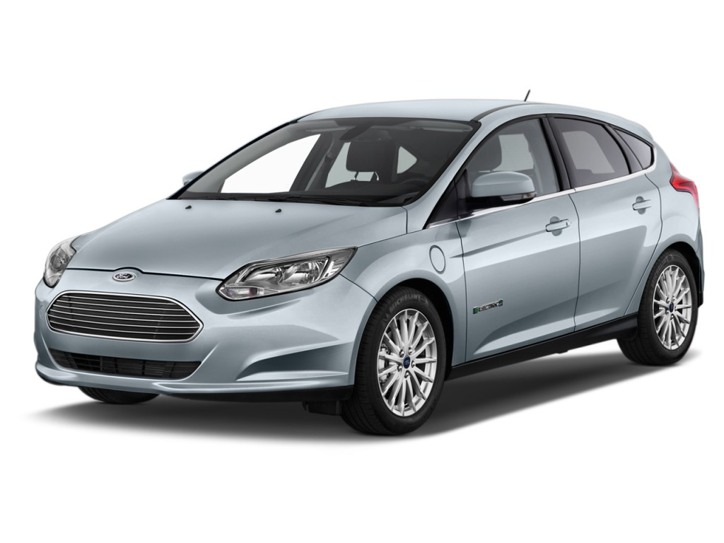2014 ford focus electric 5dr hb angular front exterior view. Cars Review. Best American Auto & Cars Review