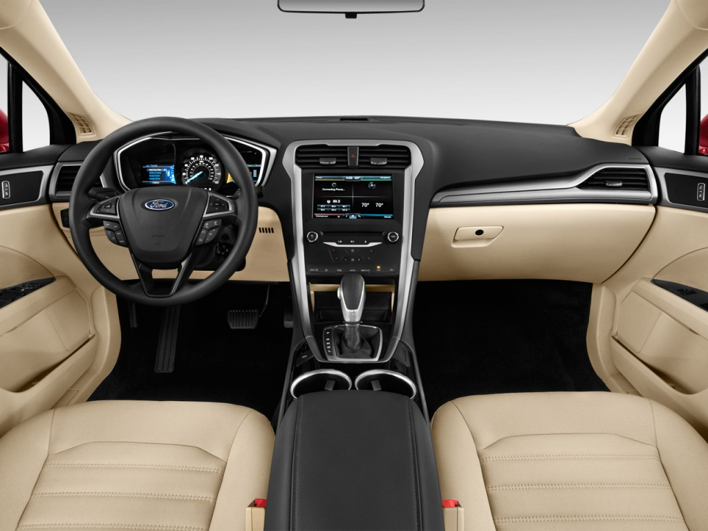 2014 ford fusion with beige interior