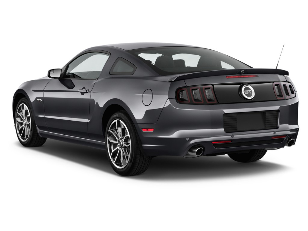 2014 ford mustang 2 door coupe gt premium angular rear exterior view. Cars Review. Best American Auto & Cars Review