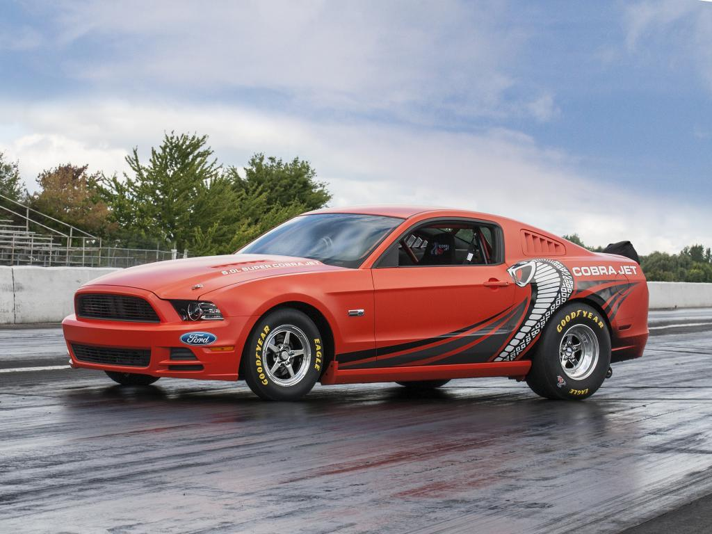2014 ford mustang cobra jet prototype sells for 200k. Black Bedroom Furniture Sets. Home Design Ideas