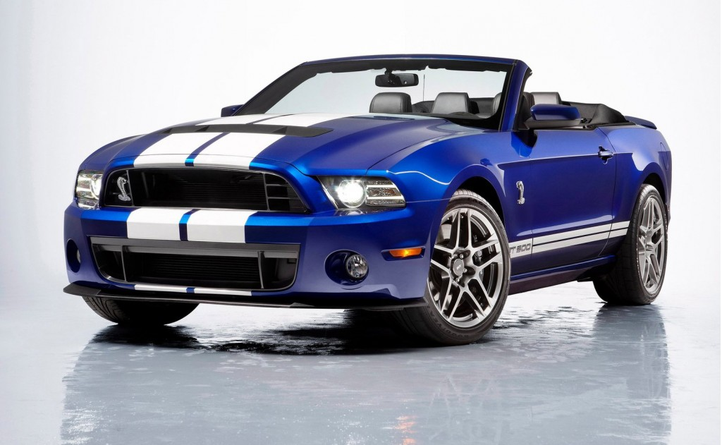 ford s final 2014 shelby gt500 convertible sells for 500k at auction. Black Bedroom Furniture Sets. Home Design Ideas