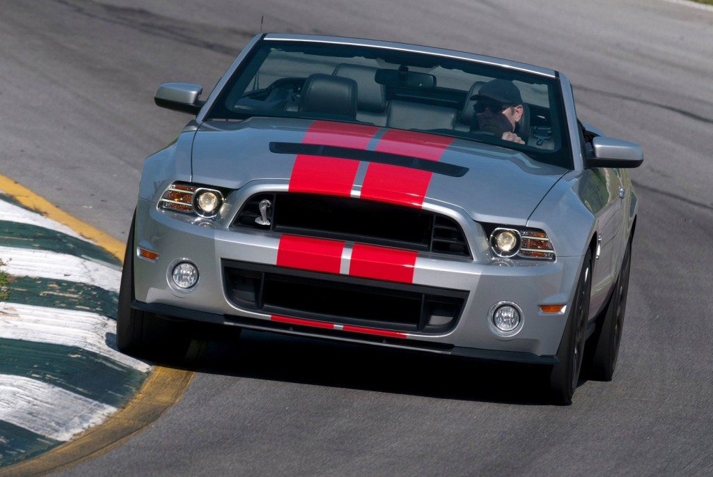 Ford's Final 2014 Shelby GT500 Convertible Sells For $500k At