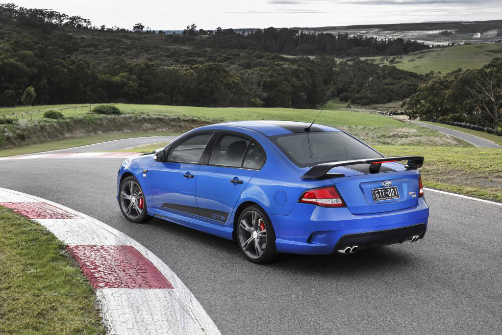 2014 fpv 351 gt f is ford�s final gtbadged falcon muscle