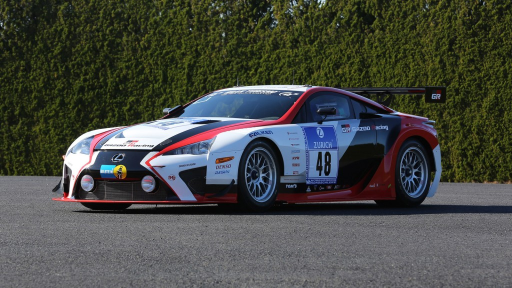 lexus reveals upgraded lfa code x race car for 2014 n rburgring 24 hours. Black Bedroom Furniture Sets. Home Design Ideas