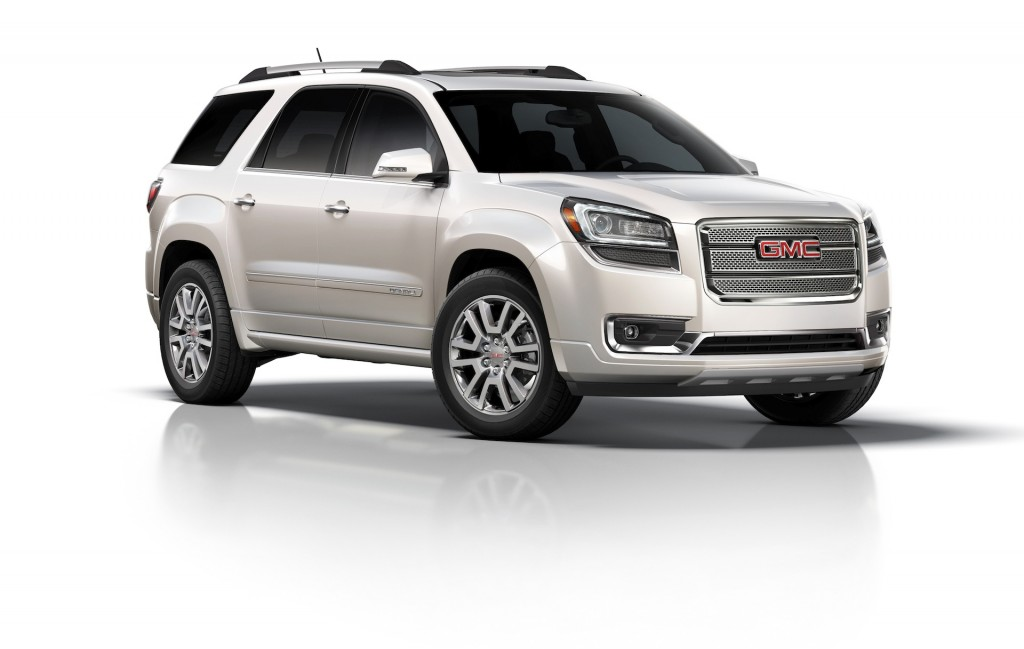 2014 gmc acadia pictures photos gallery green car reports. Black Bedroom Furniture Sets. Home Design Ideas