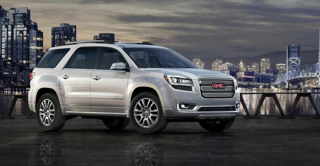 2014 gmc acadia pictures photos gallery the car connection. Black Bedroom Furniture Sets. Home Design Ideas