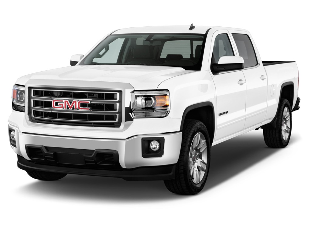 image 2014 gmc sierra 1500 2wd crew cab 143 5 sle angular front exterior view size 1024 x. Black Bedroom Furniture Sets. Home Design Ideas