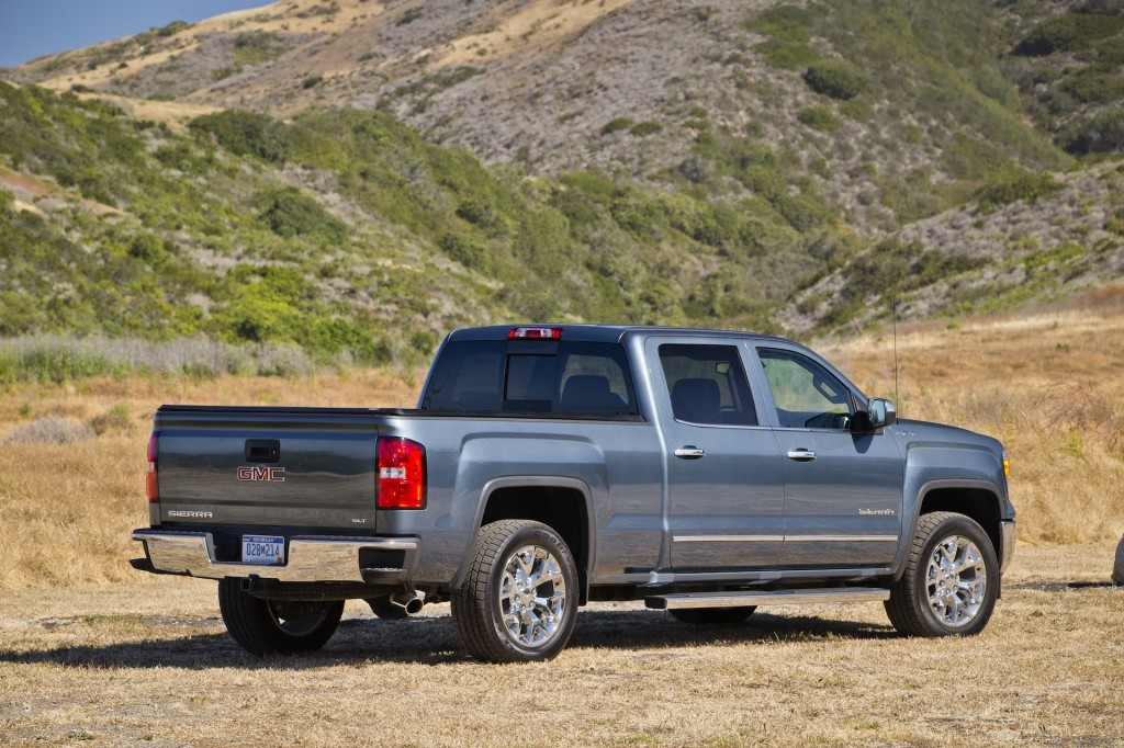 2014 gmc sierra 1500 styling review specs price release date redesign. Black Bedroom Furniture Sets. Home Design Ideas