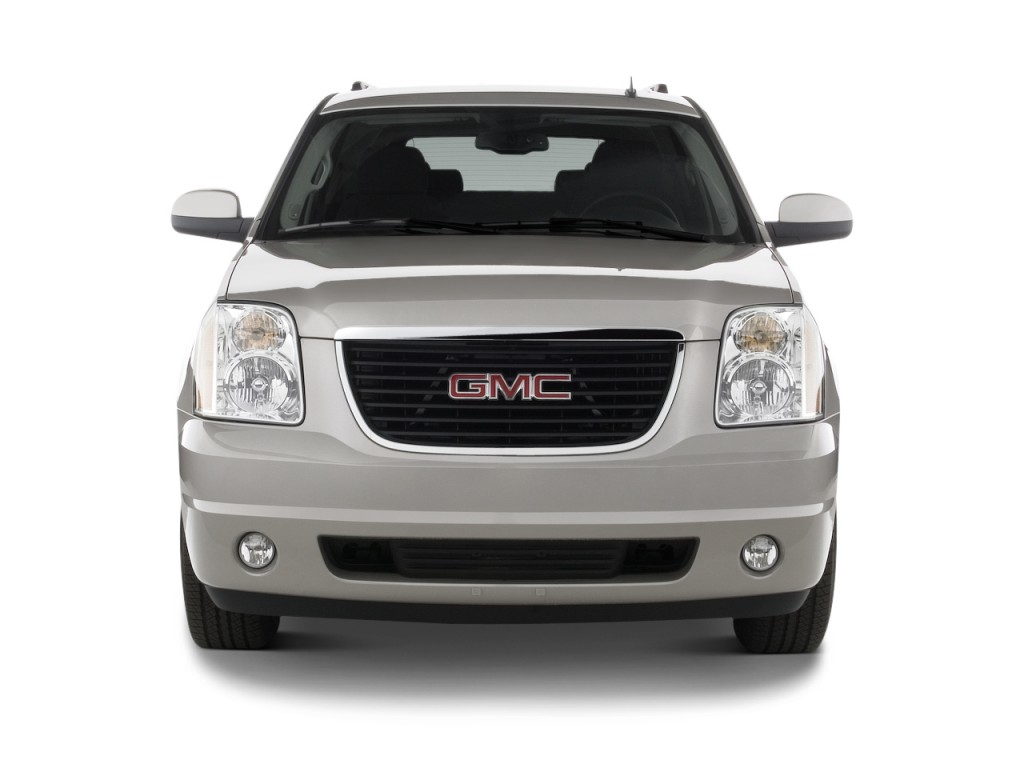 2014 gmc yukon xl 2wd 4 door 1500 slt front exterior view. Black Bedroom Furniture Sets. Home Design Ideas