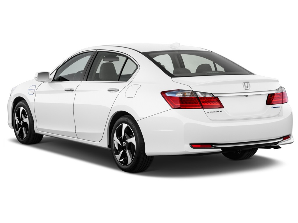2014 honda accord hybrid 4 door sedan angular rear exterior view. Black Bedroom Furniture Sets. Home Design Ideas