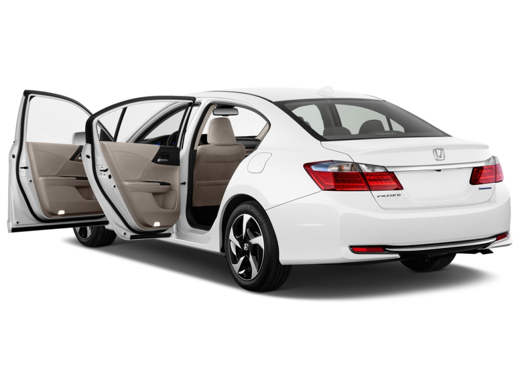2014 honda accord hybrid 4 door sedan open doors. Black Bedroom Furniture Sets. Home Design Ideas