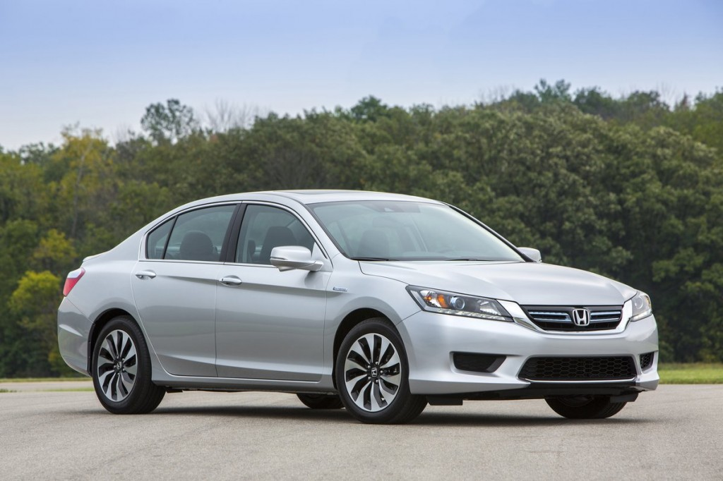 First Honda Accord 2014 Honda Accord Hybrid First