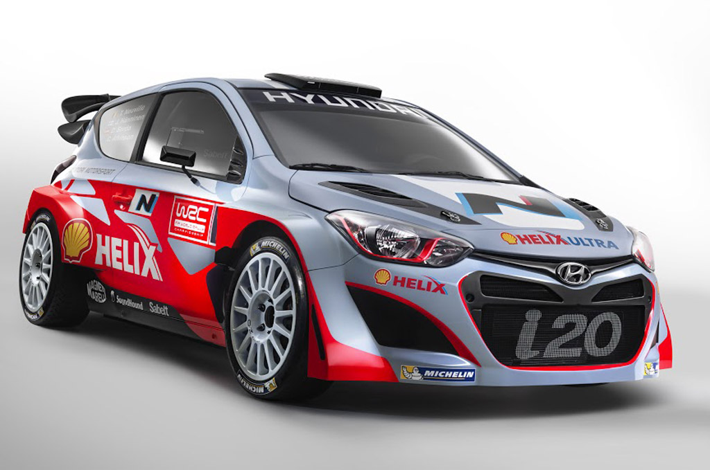 2014 hyundai i20 wrc revealed. Black Bedroom Furniture Sets. Home Design Ideas