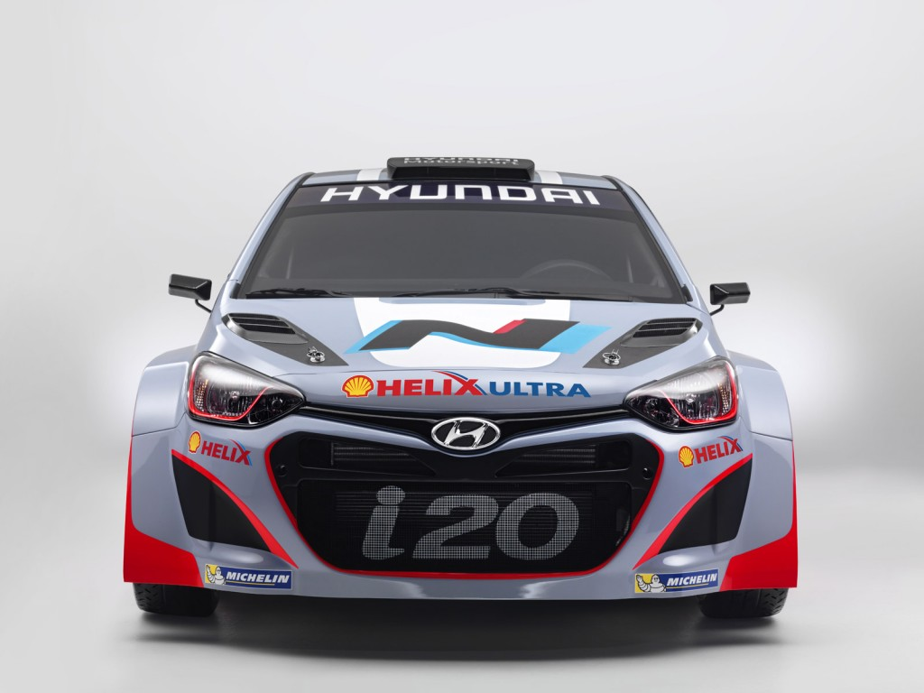 2014 Hyundai i20 WRC Revealed