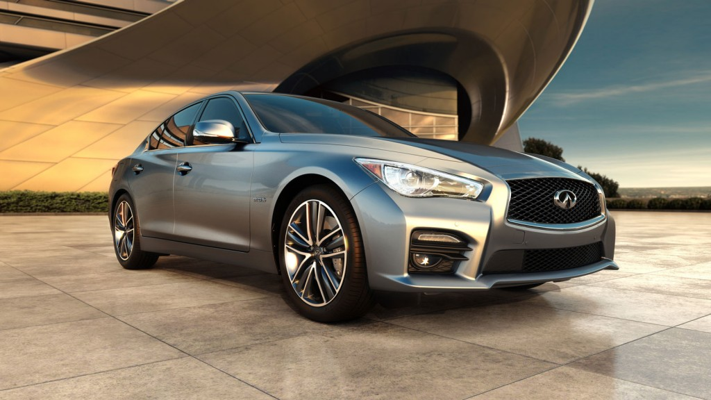 2014 infiniti q50 hybrid priced from 44 855. Black Bedroom Furniture Sets. Home Design Ideas