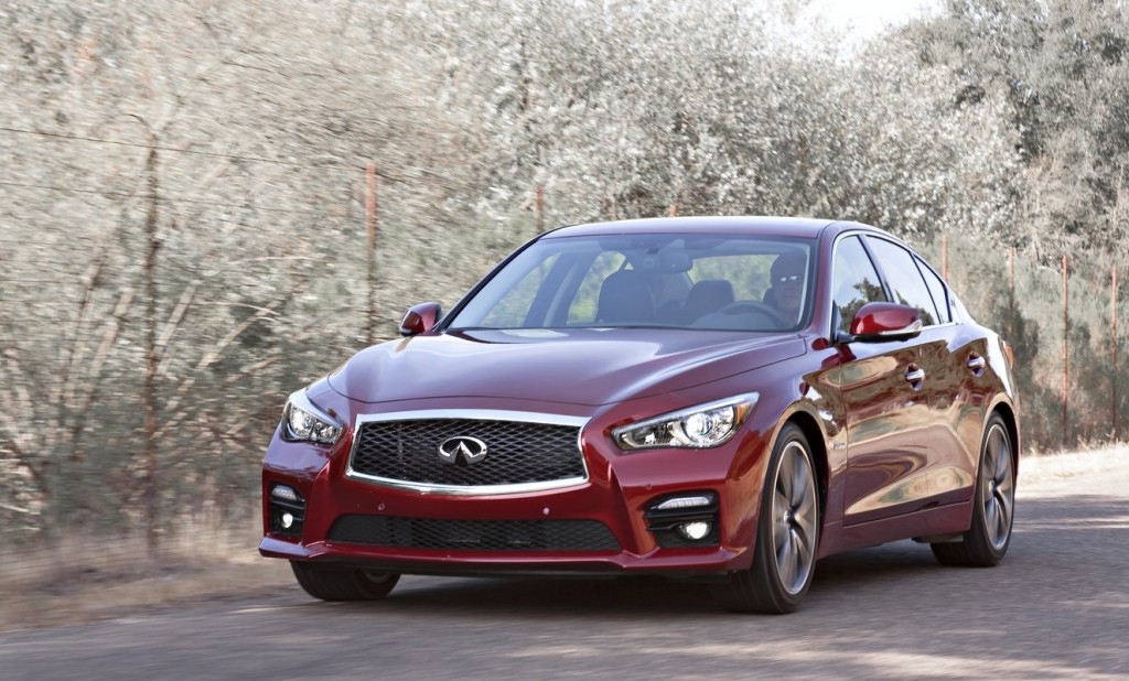 2014 infiniti q50 earns five star crash safety rating. Black Bedroom Furniture Sets. Home Design Ideas