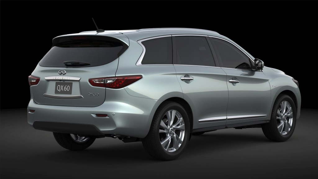 2014 infiniti qx60 hybrid luxury crossover at ny auto show. Black Bedroom Furniture Sets. Home Design Ideas