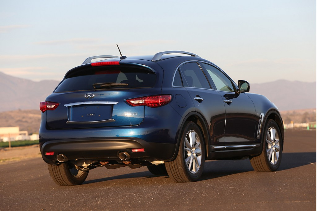 Infiniti S Fx Has Just Been Renamed The Qx70 As Part Of Automaker New Q Based Naming Strategy But We Have Some Details On Next Generation