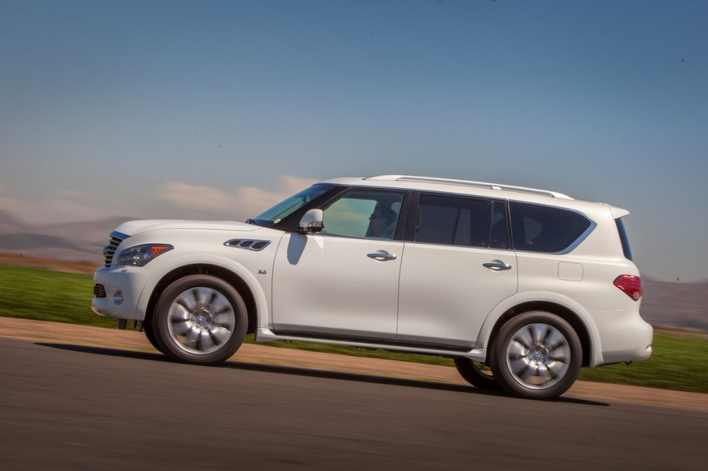 2014 infiniti qx80 pictures photos gallery green car reports. Black Bedroom Furniture Sets. Home Design Ideas